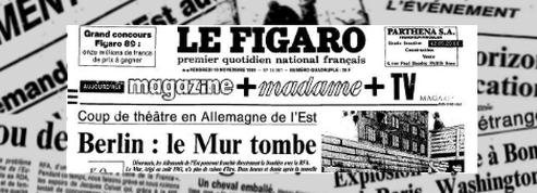 Relisez <i>Le Figaro</i> du 10 novembre 1989<br/>