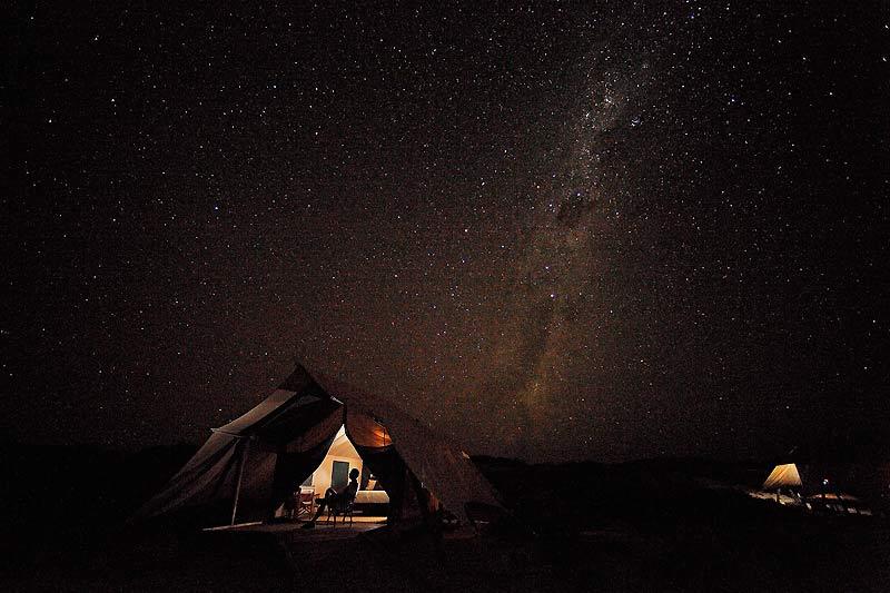 bien plus qu'un 5 étoiles, lorsque la Voie lactée illumine le ciel du Grand Ouest australien !