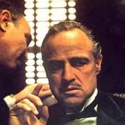 Marlon Brando dans le film Le Parrain de Francis Ford Coppola. DR