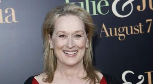 Meryl Streep à l'honneurà Rome