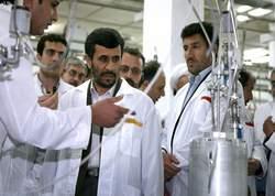 «L'idée, avancée tout récemment par les Iraniens, d'un stockage de l'uranium enrichi dans un pays tiers, est intéressante Attendons de voir si Téhéran la poursuit».