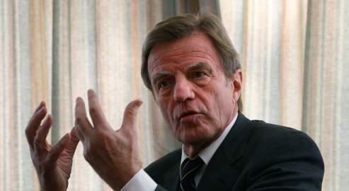 Bernard Kouchner, dimanche, à Kaboul.