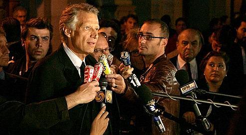 Villepin: «Je n'ai pas de rancœur»