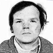 Reproduction d'une photo parue dans la presse en 1984 de Francis Evrad.