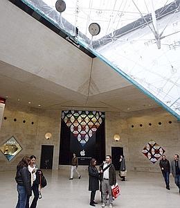 Le premier Apple Store en France va ouvrir à Paris, dans le Carrousel du Louvre.