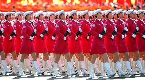 Avec le défilé de jeudi, Pékin veut avant tout exalter le sentiment national, montrer l'œuvre accomplie et ainsi légitimer le Parti.