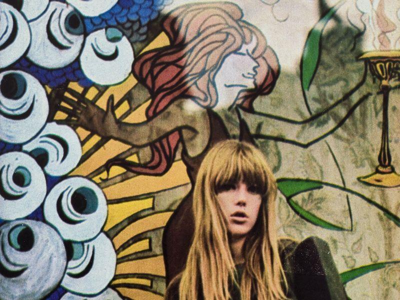''Qui sont les filles anglaises ? '', Jenny Boyd photographiée par André Berg, Parue dans la revue Mademoiselle âge tendre, n°27, janvier 1967