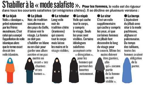 Musulmans enqu te sur l islam radical en france on peut - La loi sur le port du voile en france ...