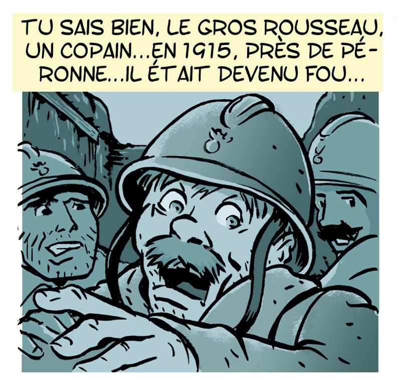 <b>Le quart</b> : Philippe Lacoche et Serge Dutfoy <br /> Même lorsque la guerre est finie, son souvenir ne vous lâche pas.