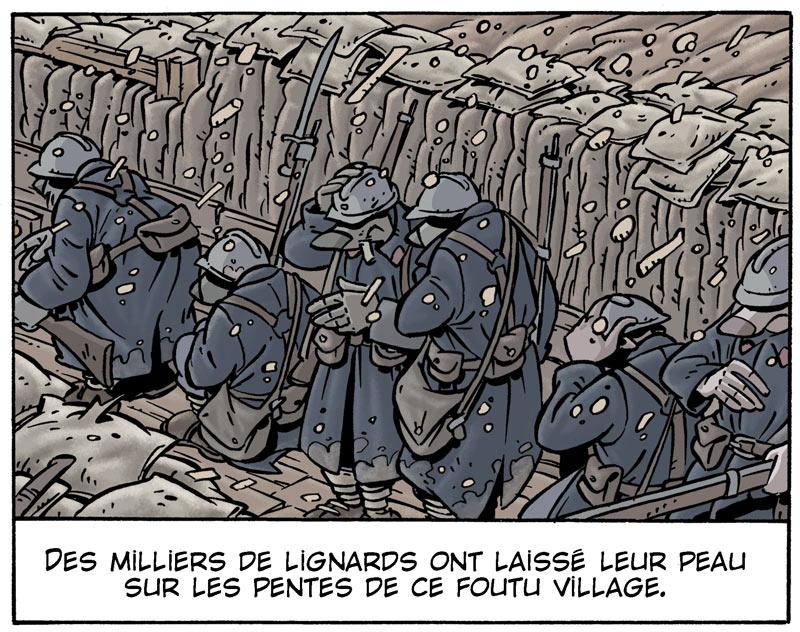 <b>Mémoire de Gaize</b> : Francis Laboutique et Pascal Régnauld <br /> Ensevelis vivants, une poignée de soldats aura réussi à ne pas sombrer dans l'oubli grâce aux mémoires de l'un d'entre eux retrouvés des décennies plus tard.