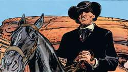 Le Bouncer , le héros manchot du western créé par Boucq et Jodorowsky