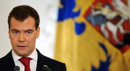 Dans son discours du Kremlin, jeudi, Dmitri Medvedev a dit vouloir incarner celui qui aura tenté de sortir son pays de l'économie administrée et de la corruption.