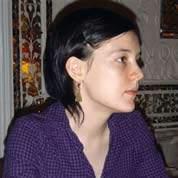 Clotilde Reiss à l'ambassade de France, le soir de sa libération sous caution.