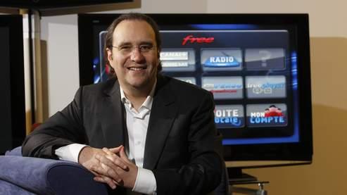 Xavier Niel, fondateur et PDG de Free, fournisseur d'accès à Internet.