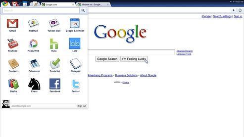 Chrome OS de Google, un système très minimaliste