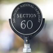 Une borne marquant la section 60 du cimetère militaire d'Arlington, où est enterré le sergent-chef Nekl B.Allen. (AP)