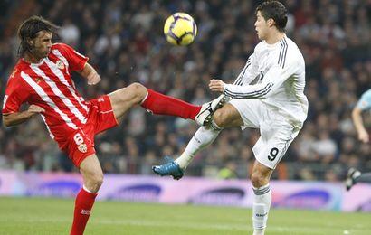 Cristiano Ronaldo a marqué, et a été expulsé contre Almeria
