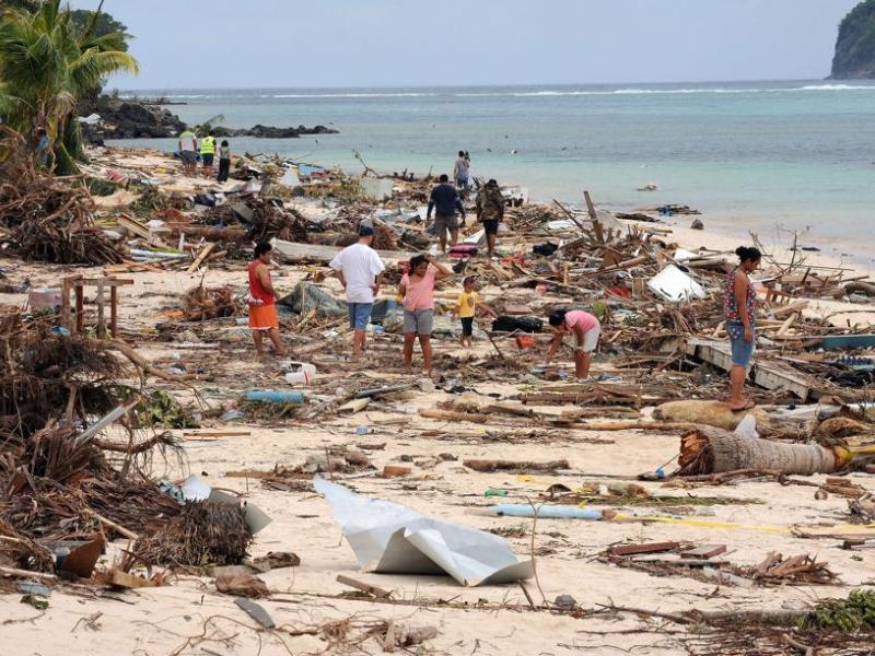 Des systèmes d'alerte anti-tsunami ont été mis en place afin d'éviter une répétition de la catastrophe de 2004 mais des «failles significatives» subsistent, selon Noeleen Heyzer, sous-secrétaire générale de l'ONU (image d'archive)