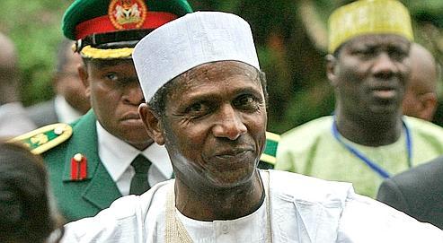 Umaru Yar'Adua,en mai 2008 à Arusha.