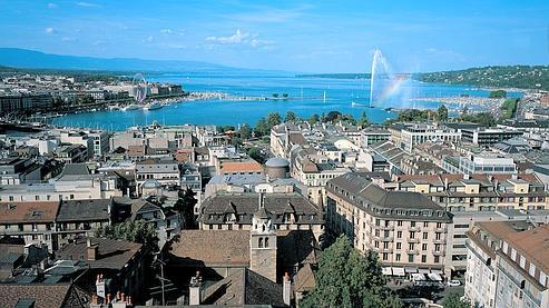 A 3h22 par TGV, Genève est une destination branchée.