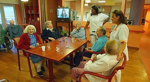 Le boom des maisons de retraite m dicalis es for Achat chambre maison de retraite