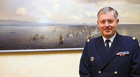 Un marin à la têtedes armées