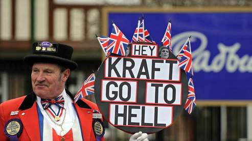 Cadbury : Kraft met fin au feuilleton