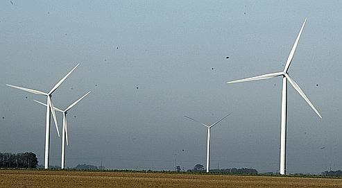 Un vent très favorable souffle sur les éoliennes