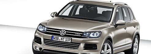 le nouveau volkswagen touareg. Black Bedroom Furniture Sets. Home Design Ideas