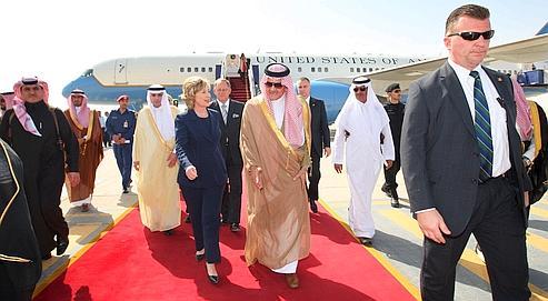 À Riyad, Hillary Clinton mobilise contre Téhéran