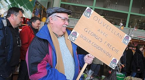 Georges Frêche appelle à la résistance et à la solidarité