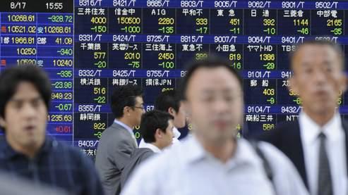 Forte hausse sur les places boursières asiatiques