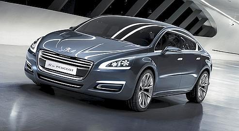 5 by Peugeot, un avant-goût de 508