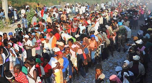 Sarkozy en Haïti pour préparer la reconstruction