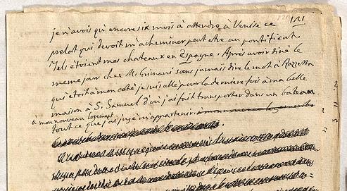 La rocambolesque histoire des manuscrits de Casanova