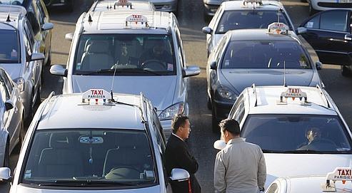 Taxis parisiens : le monopole à Roissy remis en cause
