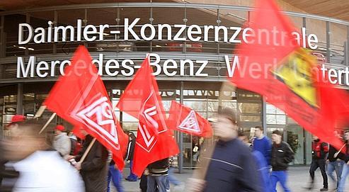 Accord historique dans l'industrie allemande