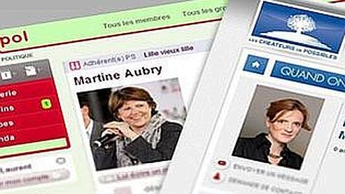 Les réseaux sociaux des partis mobilisent peu