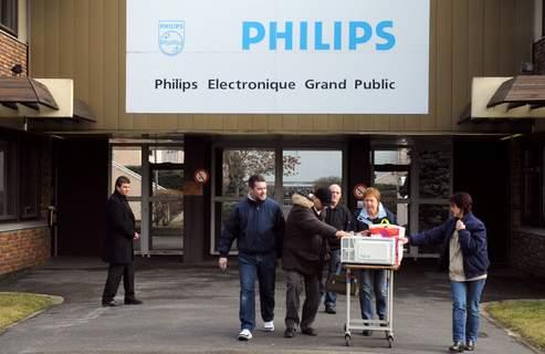 Philips : les salariés attendent la décision du tribunal