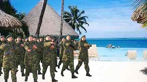 Haïti ou Tahiti... Canal + se laisse tromper par un canular