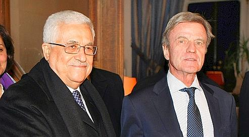Kouchner la reconnaissance rapide d'un État palestinien