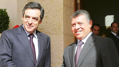 Fillon soutient Areva en Jordanie