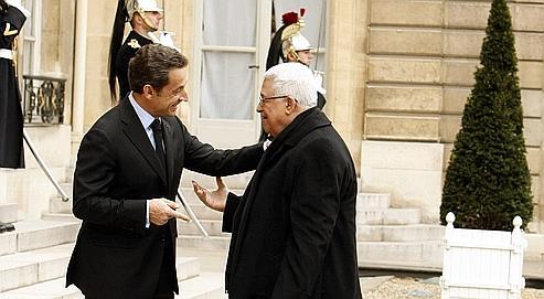 Sarkozy plaide pour un État palestinien «viable»