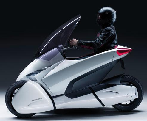 Honda 3R-C, un trois-roues électrique
