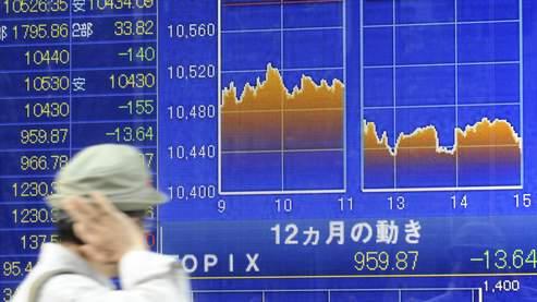L'Asie boursière pointe à la baisse