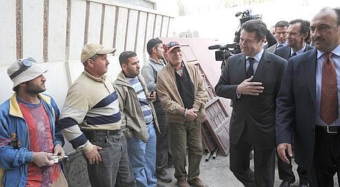 Estrosi installe les entreprises françaises en Irak