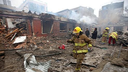 Plus de 32 personnes ont été blessées dans l'attentat suicide perpétré vendredi matin dans le centre de Kaboul.