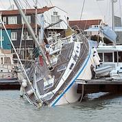 Plusieurs quartiers de La Rochelle étaient également inondés, principalement les quais et le secteur du port de plaisance.
