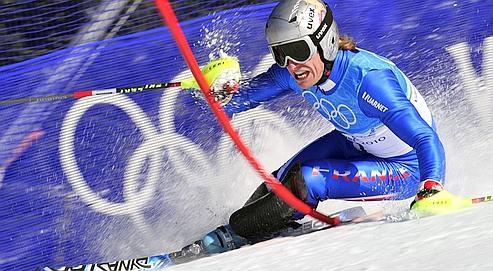 Lizeroux: «Le slalom, c'est la guerre»
