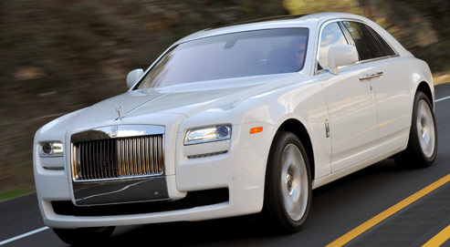 La Ghost… une voiture pleine d'esprit !